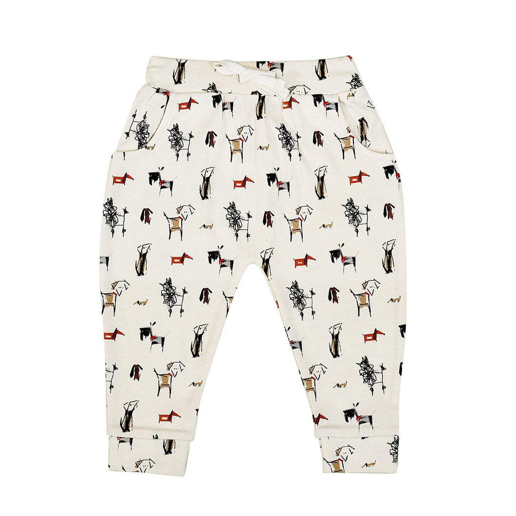 Baby lounge pants | dogs finn + emma