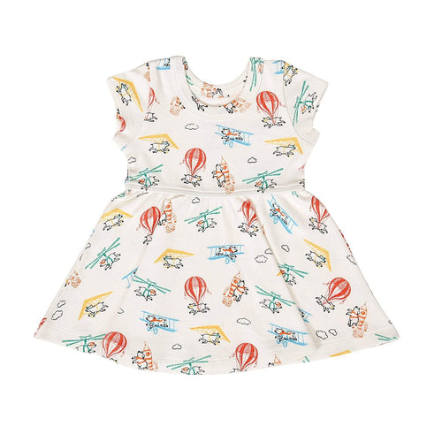 Baby twirl dress | flying pigs finn + emma