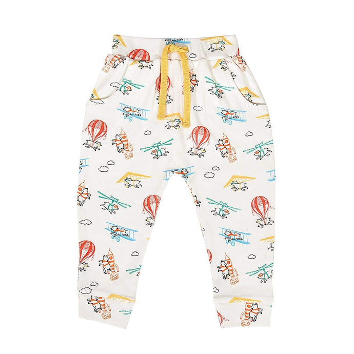 Baby lounge pants | flying pigs finn + emma
