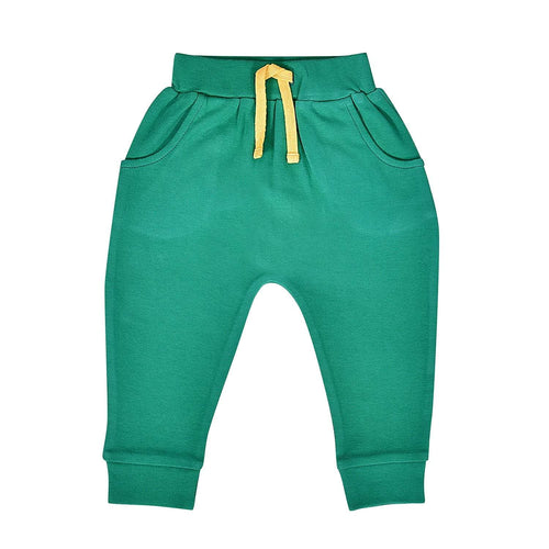 Baby lounge pants | emerald green finn + emma