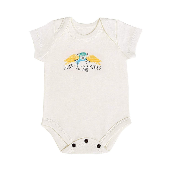 Baby graphic bodysuit | hogs and kisses finn + emma