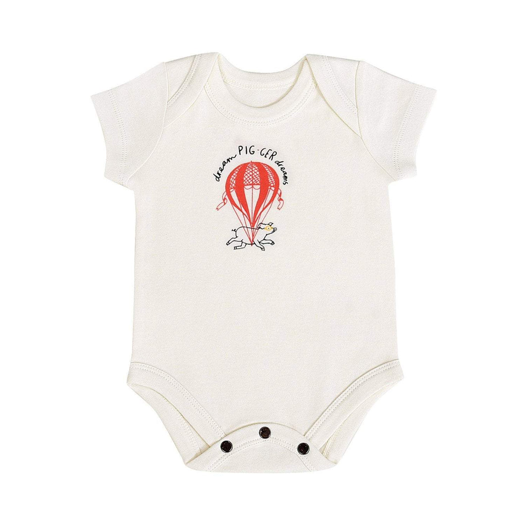 Baby graphic bodysuit | pigger dreams finn + emma