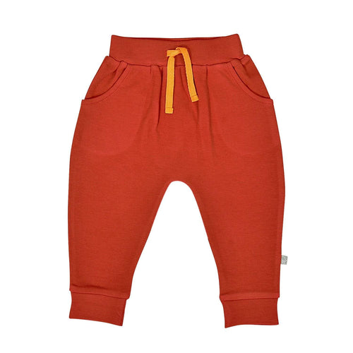 Baby lounge pants | mecca orange finn + emma