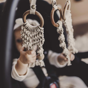 all-in-one toy | macrame braids