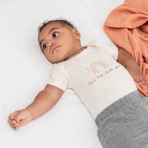 Baby graphic bodysuit | this too shall pass finn + emma