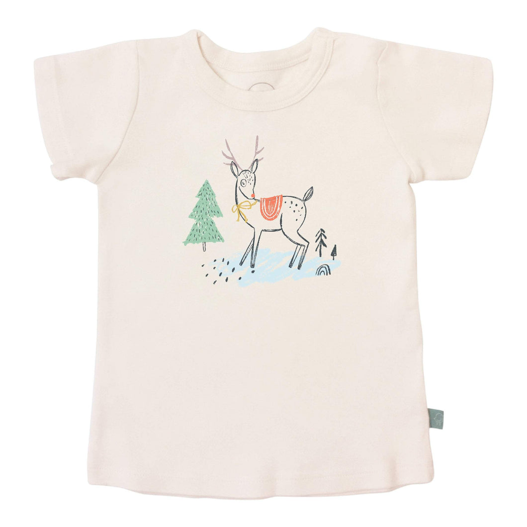 graphic tee | christmas deer