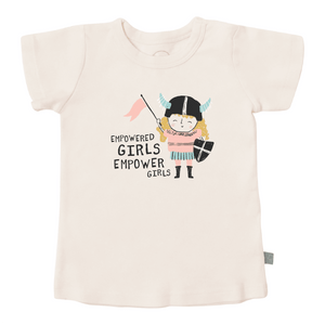 graphic tee | empowered girls