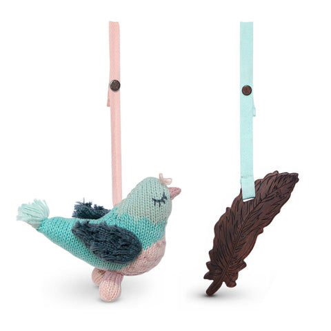 2 pc. stroller toys [penny & feather]