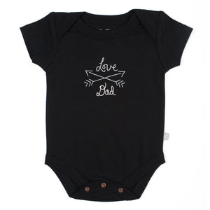 lap bodysuit | love dad