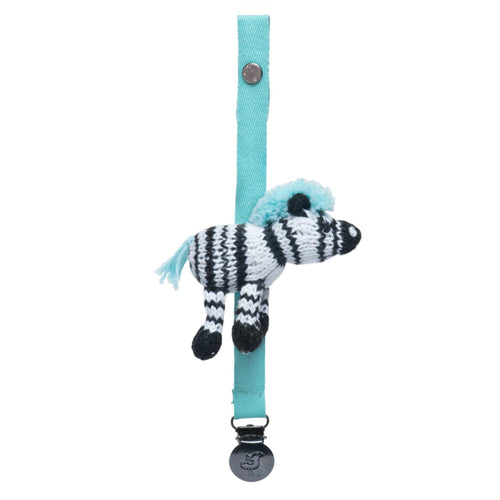 pacifier holder [daisy the zebra]