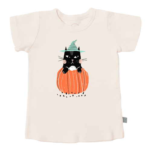 graphic tee | halloween cat