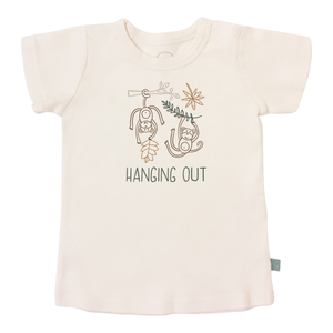 Baby graphic tee | hanging out finn + emma