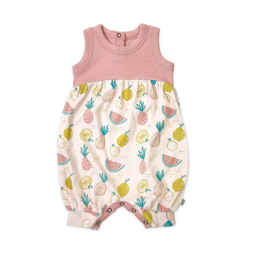 romper | tropical fruit