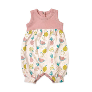 Baby romper | tropical fruit finn + emma