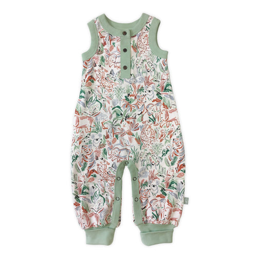 Baby playsuit | animal kingdom finn + emma