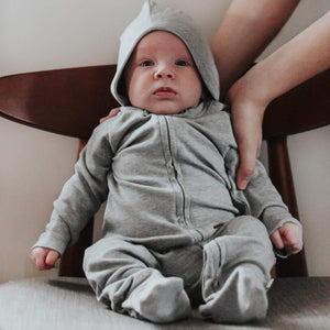 Baby snuggle me set | heather gray finn + emma