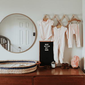Baby basics bundle set | light pink finn + emma