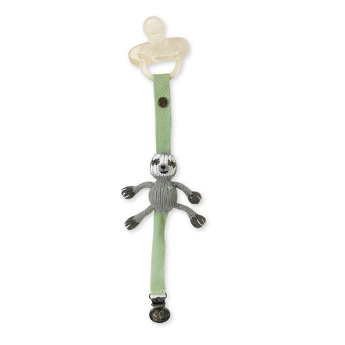 pacifier holder | eli the sloth