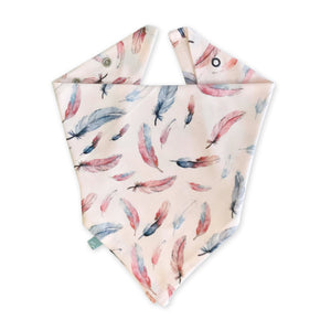 lovie bib  | feather
