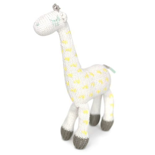 Baby rattle buddy | amelia the giraffe Finn + Emma