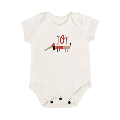 Baby graphic bodysuit | joy dog finn + emma