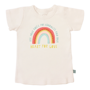 graphic tee | rainbow kindness