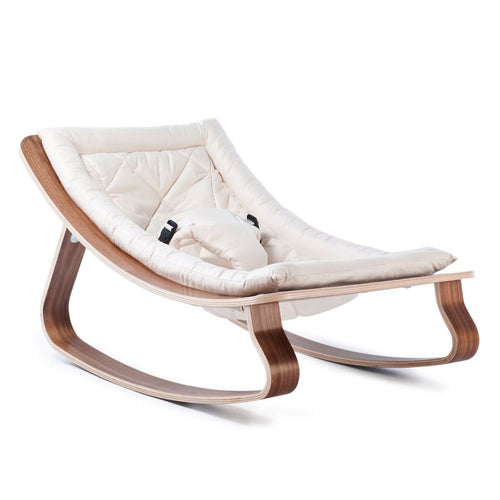 rocker | white | walnut