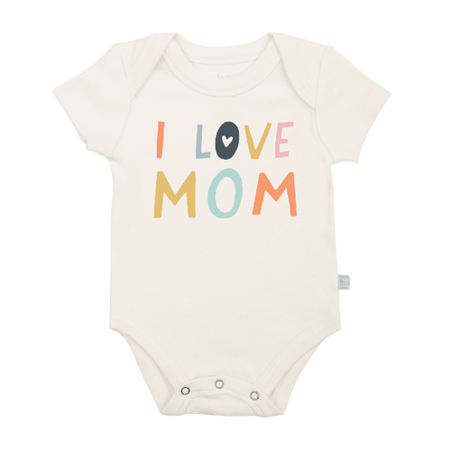 Baby graphic bodysuit | love mom finn + emma