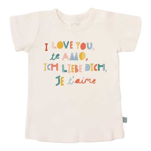 graphic tee | i love you