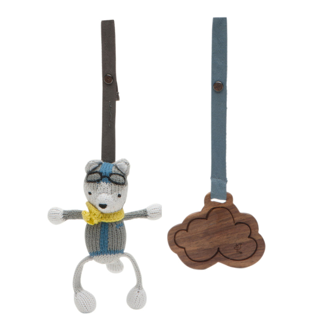 2 pc. stroller toys | henry & cloud