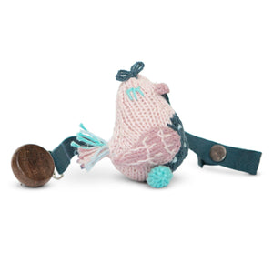 Baby pacifier holder | stella the sparrow finn + emma
