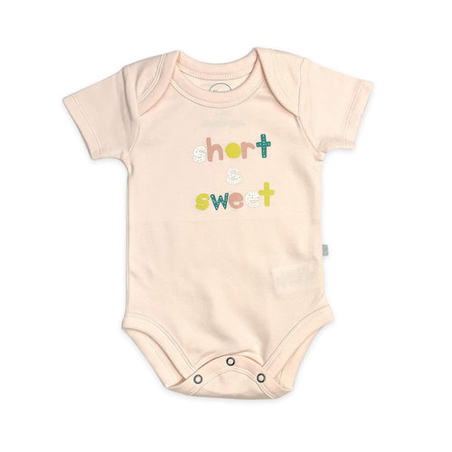 Baby graphic bodysuit | short and sweet finn + emma