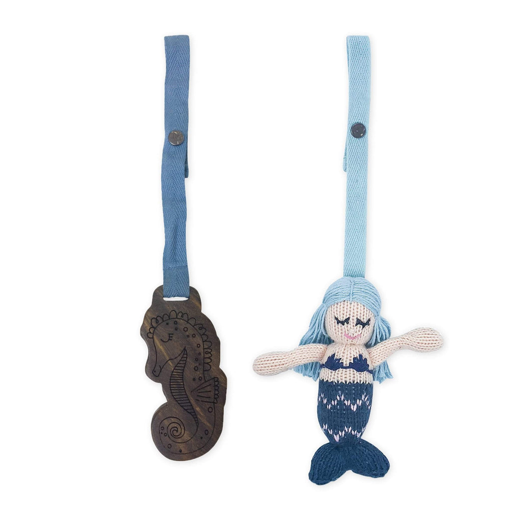 2 pc. stroller toys | penelope & seahorse
