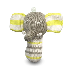 Baby mini rattle | piper the elephant finn + emma