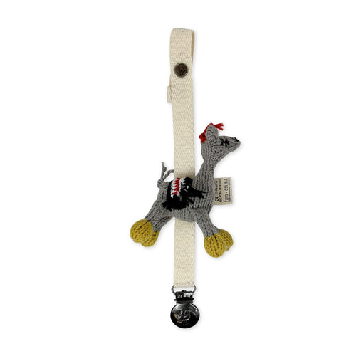 pacifier holder | lucia the llama