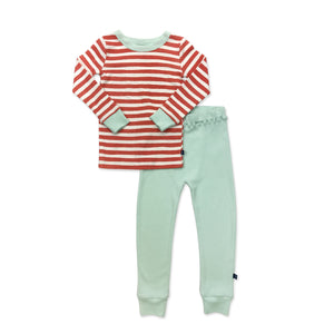 pajamas | red & white stripe