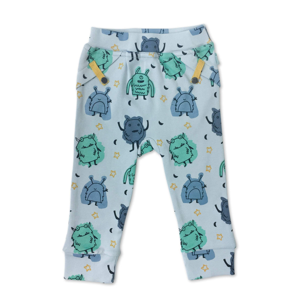 Baby straight leg pants | monsters finn + emma
