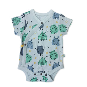 Baby short bodysuit | monsters finn + emma