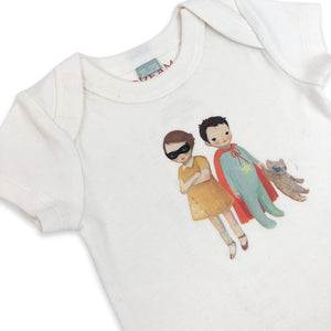 lap bodysuit | hero kids