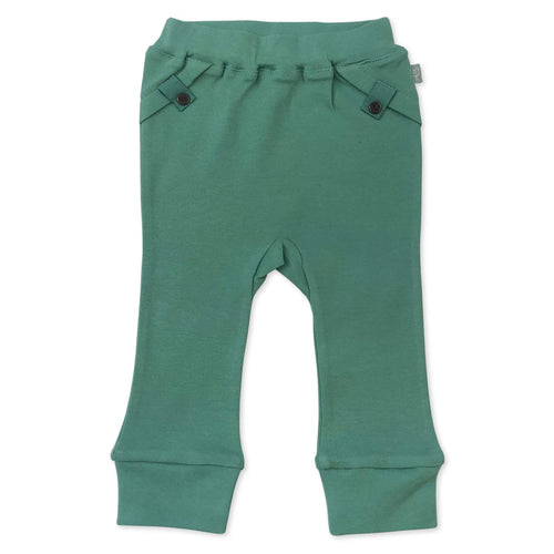 straight leg pants | aloe green