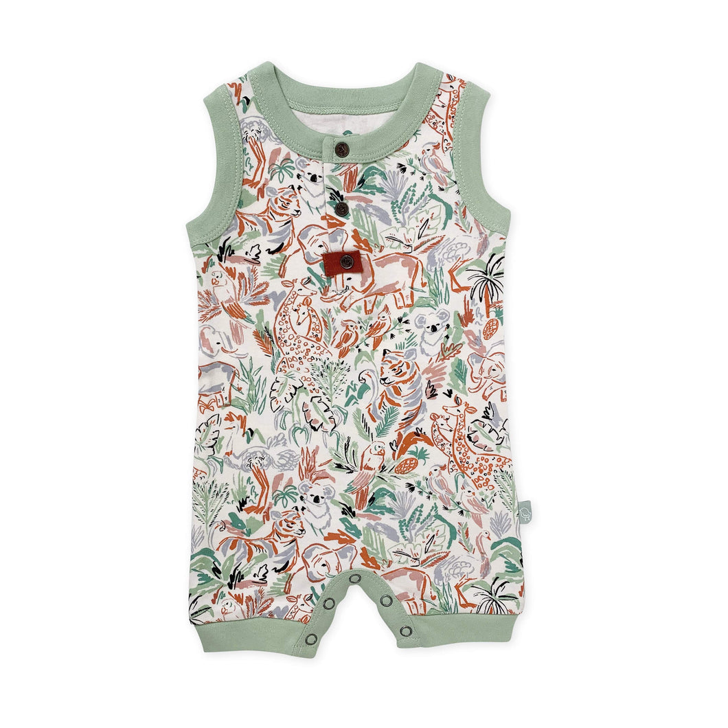 tank romper | animal kingdom