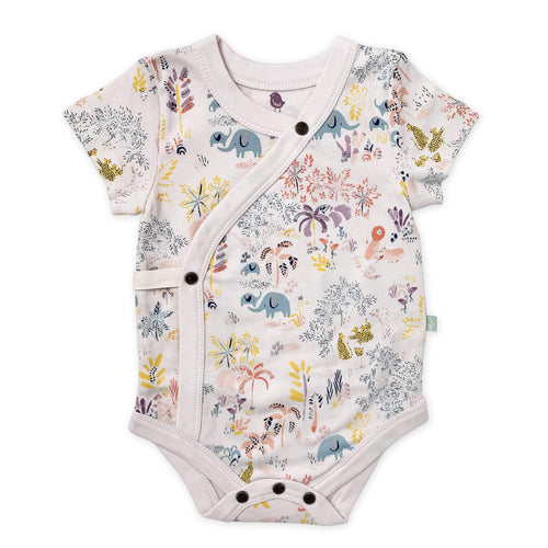 Baby short bodysuit | savanna Finn + Emma