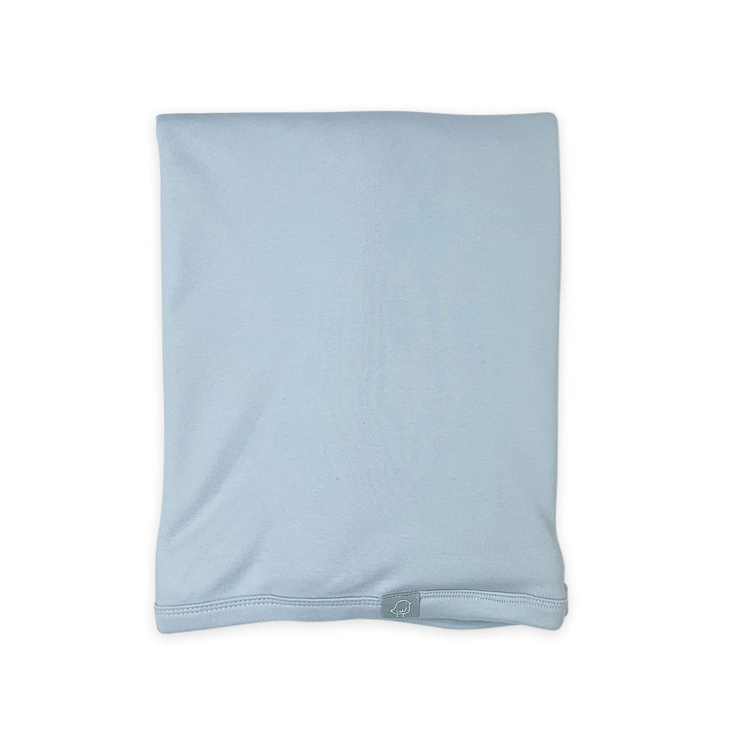 swaddle blanket | blue