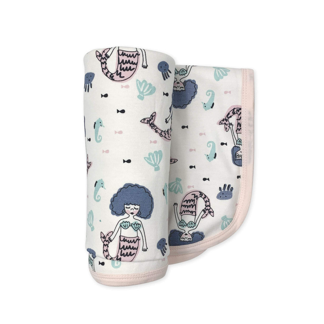 swaddle blanket | mermaids