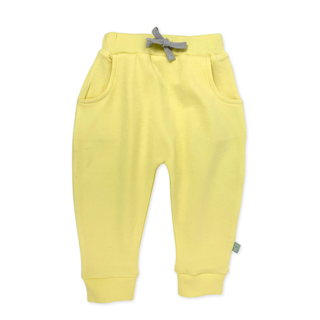 lounge pants | yellow cream