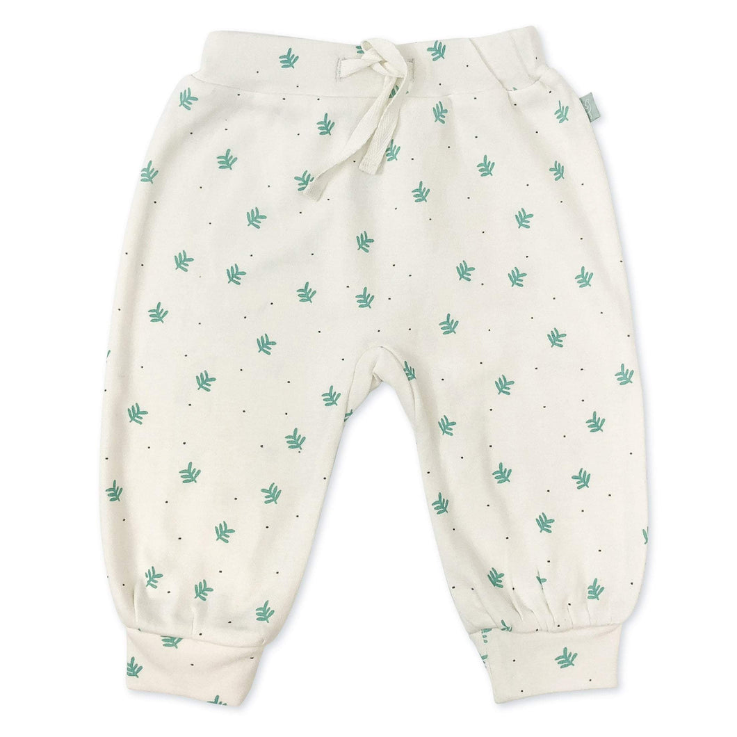 Baby harem pants | dotted leaves finn + emma