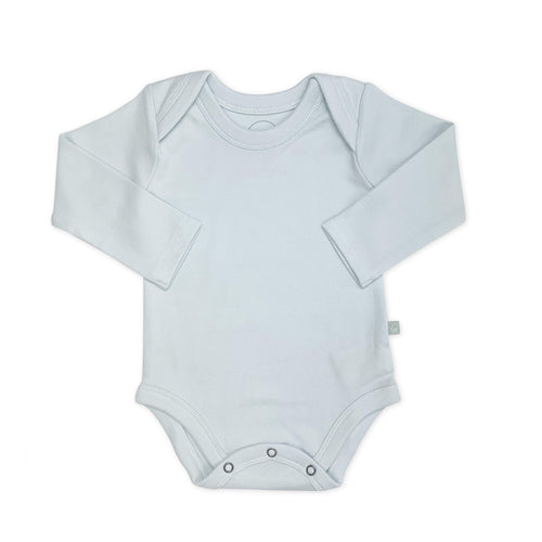 Baby basics long bodysuit | lt.blue finn + emma