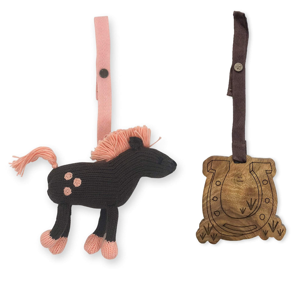 2 pc. stroller toys | molly & horseshoe