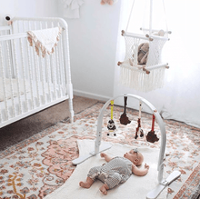 Baby play gym | wildflowers | white finn + emma
