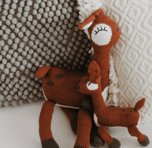 rattle buddy | sienna the fawn